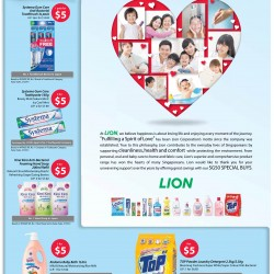 Lion: SG50 special buys @ $5