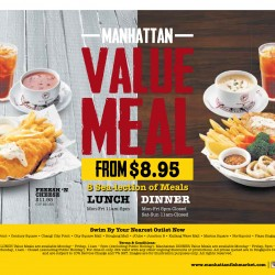 Manhattan Fish Market: Value meal from $8.95