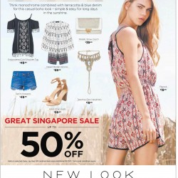 NEW LOOK: GSS sale up to 50% off