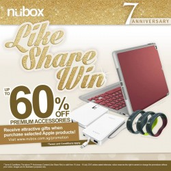 nübox: 7th anniversary Apple products special