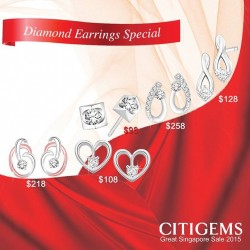 CITIGEMS: The Great Singapore Sale diamond earring special