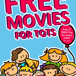 Cathay Cineplexes: FREE Movie for Tots