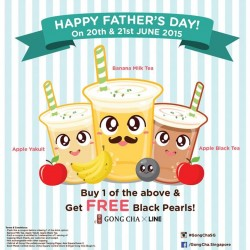 Gong Cha: Free Serving of Black Pearls
