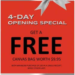 Bata: Free Canvas bag