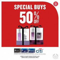 The Body Shop: 50% Special Buys