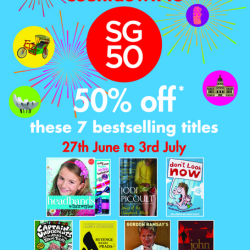 Times Bookstores: Countdown to SG50 Promotion