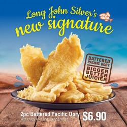 Long John Silver's: $10 for 2 combo meals