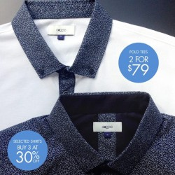 G2000: Polo Tee & Shirt Promotion