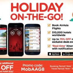 AirAsiaGo: Up to 75% off exclusive deals for mobile