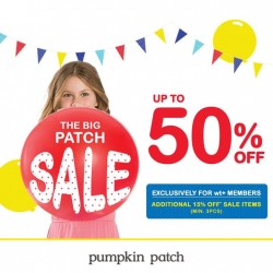 Pumpkin Patch: The Big Patch Sale