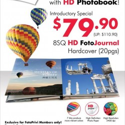 FotoHub: HD Photobook promotion at just S$79.90
