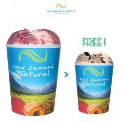 New Zealand Natural: Snag a free pint (worth $13.90) with every quart purchased