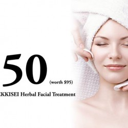 KOSÉ: 47% off SEKKISEI Herbal Facial Treatment