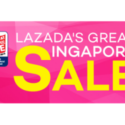 Lazada.sg: S$10 off S$50 For Great Singapore Sale Storewide coupon code released!
