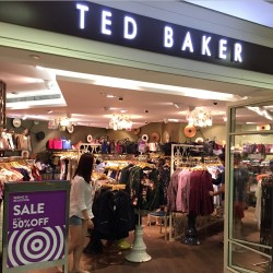 Ted Baker offers up to 50% OFF Great Singapore Sale 2015