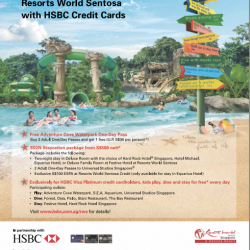 HSBC: Exclusive Privileges at Resorts World Sentosa