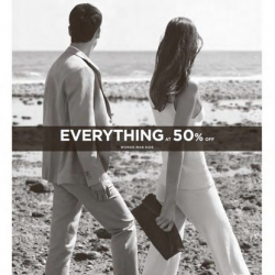 Mango: Everything at 50% off