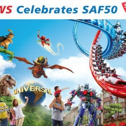 Resort World Sentosa (RWS) Celebrates SAF 50 --- 1-for-1 admission to Universal Studios