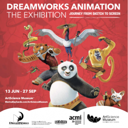 ArtScience Museum: Dreamworks Animation
