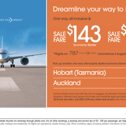 Jetstar: Dreamline your way to Melbourne