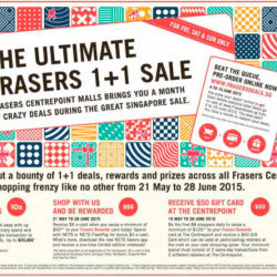 Centrepoint Malls: The ultimate Frasers 1+1 sale