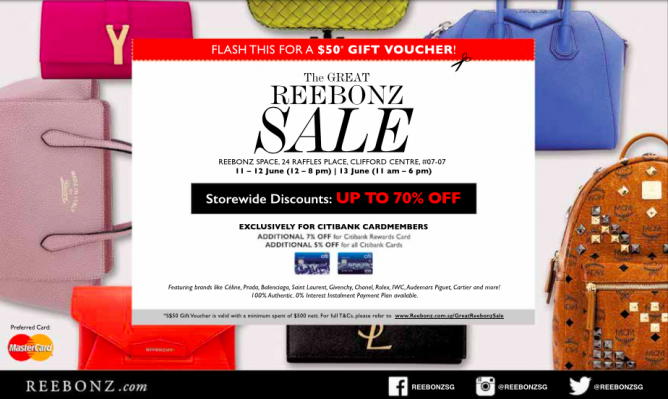 Reebonz: The great REEBONZ sale