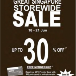 MPH Bookstore: GSS storewide sale up to 30% off