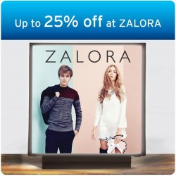 ZALORA: Up to 25% off with Citibank
