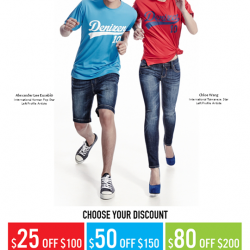 Denizen: Up to S$80 OFF all dENiZEN stores
