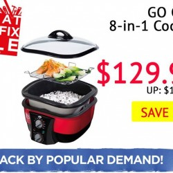 Selffix DIY: GO CHEF 8 in 1 Cooking at $129.90