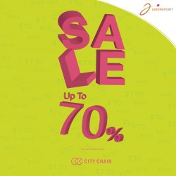 City Chain: Up To 70% Off Sale @ Jurong Point