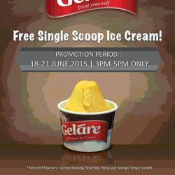 Gelare: FREE Ice Cream giveaway