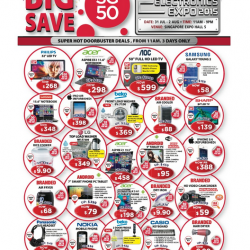 Consumer Electronic Expo: Big sale for all electronics products@ get up to 90% off!