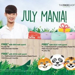 TheFaceShop July Mania