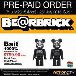Action City: Bait Prepaid Order Offer