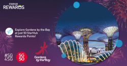 StarHub: Explore Gardens by the Bay at 50 StarHub Rewards Points