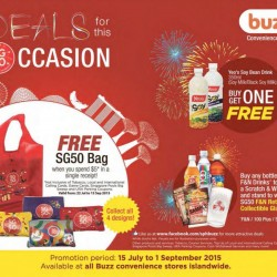 Buzz Convenience Store: Deals for this SG50 Occasion