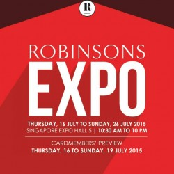 Robinsons EXPO sale: up to 70% off