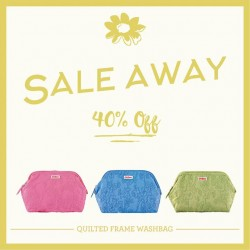 Cath Kidston: 40% Off Quilted Frame Washbags at $37.80 each (U.P. $63)