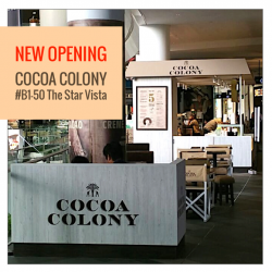 The Star Vista : Enjoy 1-for-1 opening special at Cocoa Colony