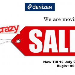 Denizen: Moving Out Sale