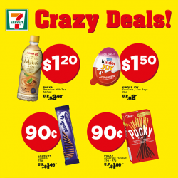 7-Eleven: Crazy Deals Starting From Only 90 Cents