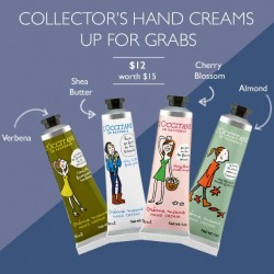 L'OCCITANE:  LIMITED EDITION Collectors' Hand Creams at $12