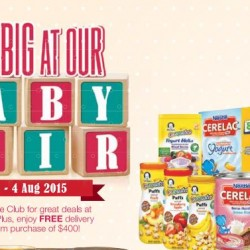 Warehouse Club: Great Deals at Baby Fair --- Save Big!