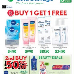 Cold Storage: SG50 Special --- 1-for-1 and buy 2nd at 50% OFF