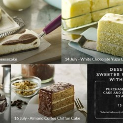 Starbucks: Enjoy 1-for-1 on new Dreamy Dessert cakes for a limited time