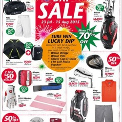 Golf House: SG50 National Day Sale