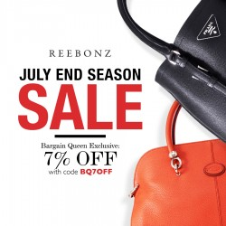 Reebonz SG: up to 70% OFF for its end of season sale + BargainQueen Reader exclusive 7% OFF coupon