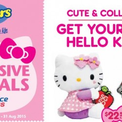 FairPrice & Cheer: Exclusive SG50 Hello Kitty Specials