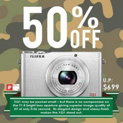 FUJIFILM Offers 50% Discount for XQ1 to Celebrate SG50 With SAF!